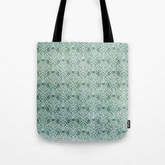 Art Nouveau Grunge Pattern Tote Bag