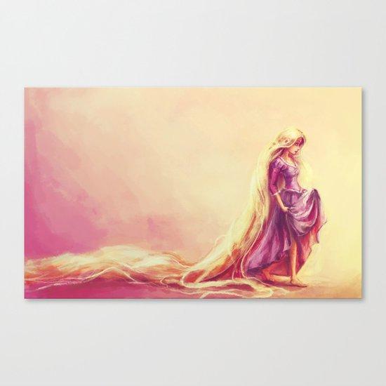 Gilded Canvas Print