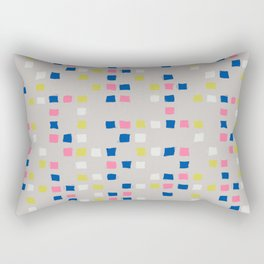 Tic Tac Tile - Texture Series 1 Rectangular Pillow