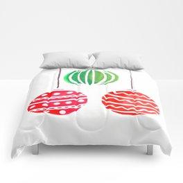 Christmat ornaments Comforters