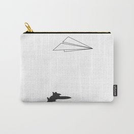 Paper Airplane Dreams Carry-All Pouch