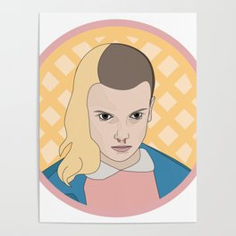ELEVEN WAFFLE Poster
