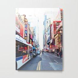 273. Colorful Time Square, New York Metal Print