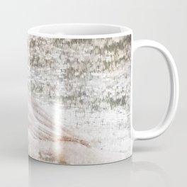 Merganser Fishing in the Rain Coffee Mug