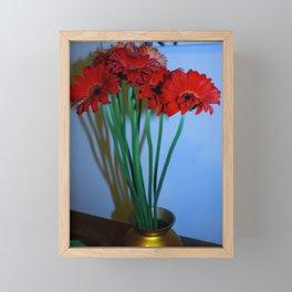 Red. Framed Mini Art Print