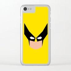 Wolverin e superhero Clear iPhone Case