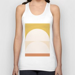 Abstract Geometric 01 Unisex Tank Top