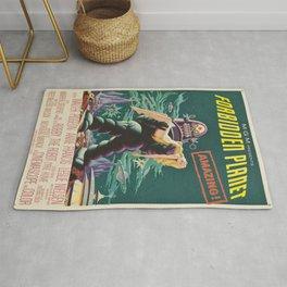 Vintage poster - Forbidden Planet Rug