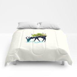 Nature in the Deer Comforters