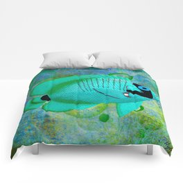 ANGEL FISH BLUE Comforters