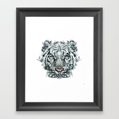 The White Tiger (Classic Version) Framed Art Print