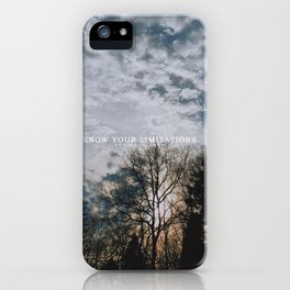 Know iPhone Case