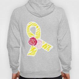 Endometriosis Awareness Ribbon Hoody