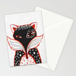 Kaleidoscope Fox Stationery Cards