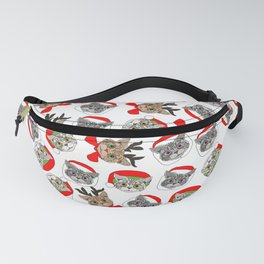 Festive Cats Fanny Pack