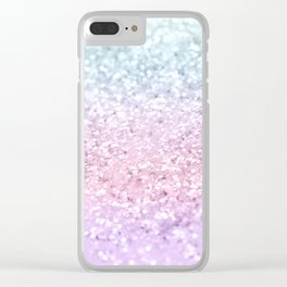 Unicorn Girls Glitter #4 (2019 Version) #shiny #pastel #decor #art #society6 Clear iPhone Case