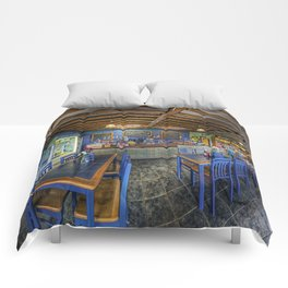 Retro Cafe Comforters