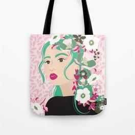Floral & Feminine - Determined Tote Bag