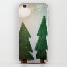 Forest nights iPhone & iPod Skin