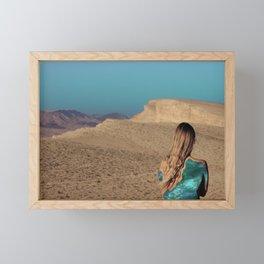 Desert #3 Framed Mini Art Print