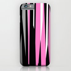 Pink White Gray and Black abstract Slim Case iPhone 6s