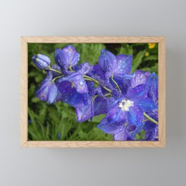 essense of purple Framed Mini Art Print
