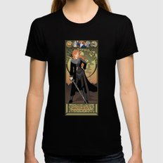 Sorsha Nouveau - Willow Womens Fitted Tee MEDIUM Black