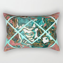 Geometric XX Rectangular Pillow