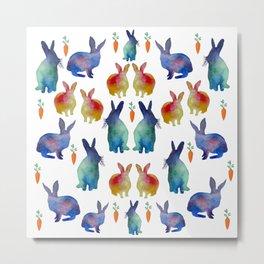 Rabbit's Heaven Metal Print