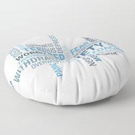 Anxiety 4 Floor Pillow