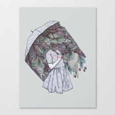 Black Cloud Canvas Print