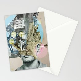 it´s all in your mind · Statue Stationery Cards
