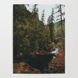 McKenzie River Trail - Blue Pool Poster