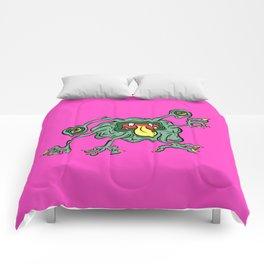 Alien Wiggle Monster - Flu Germ Comforters