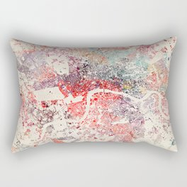 London map Rectangular Pillow