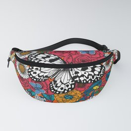 A colorful garden Fanny Pack