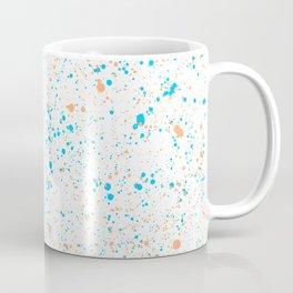 Splatter - Orange Blue Colorway Coffee Mug