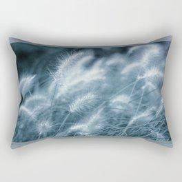 blue grass Rectangular Pillow