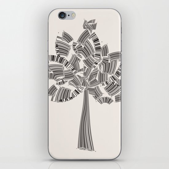 UPC Tree iPhone & iPod Skin