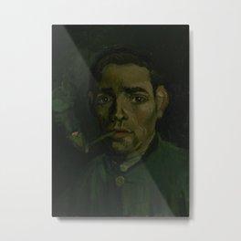 Head of a Man Metal Print