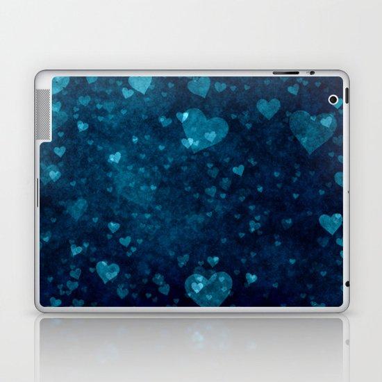 Blue Love Laptop & iPad Skin