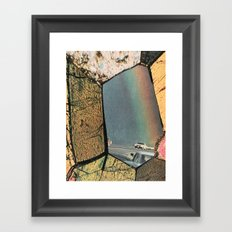 Hole In The Rainbow Framed Art Print