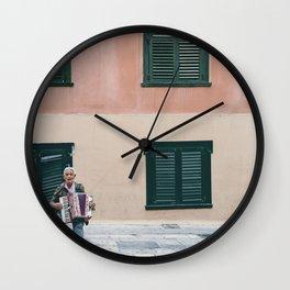 Busker Wall Clock