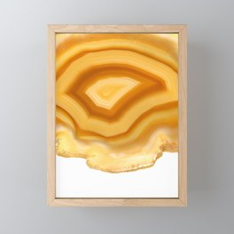 Eye of Horus Agate Framed Mini Art Print