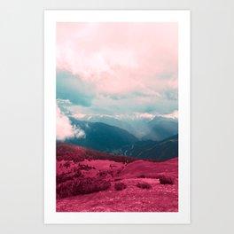 Leave Behind Art Print