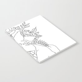 Blossom Hug Notebook