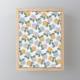 Flowers for You Framed Mini Art Print