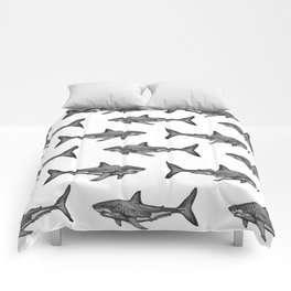 Carcharodon carcharias 2.0 Comforters