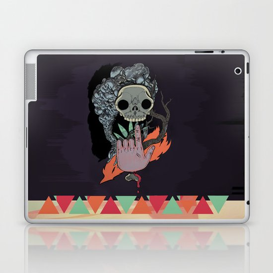 """Body Music"" by Justin Hopkins Laptop & iPad Skin"