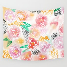 Abstract Watercolor III Wall Tapestry